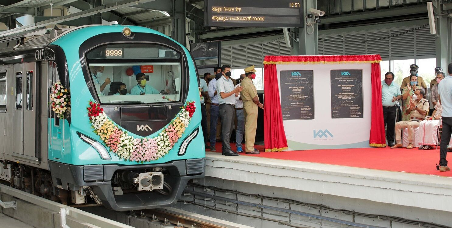Kochi Metros first phase fully commissioned as service reopens