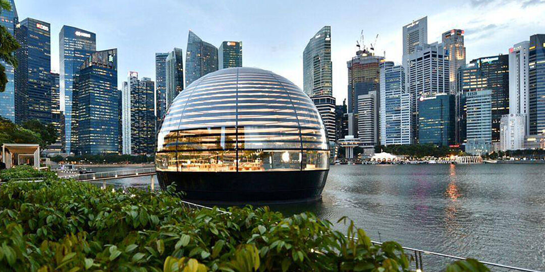Worlds first floating Apple store to open Thursday in Singapore