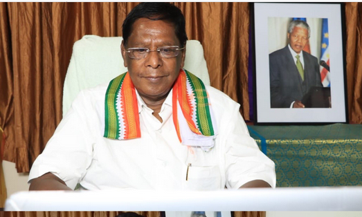 NEET: Puducherry CM says people will teach BJP lesson in forthcoming Assembly polls