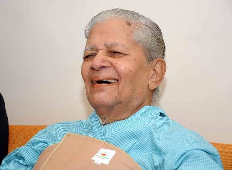 Former Gujarat Chief Minister Madhavsinh Solanki dies at 93