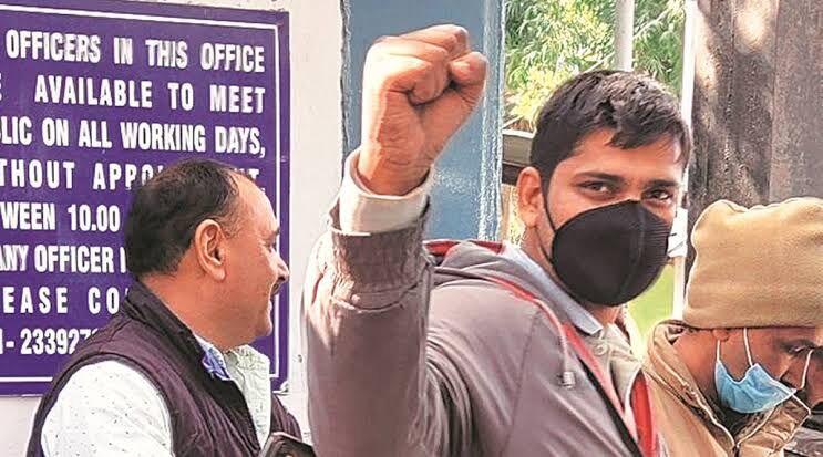 Freelance journalist Mandeep Punia granted bail