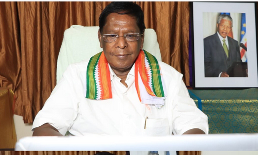 Puducherry CM resigns as Congress led govt falls ahead of floor test