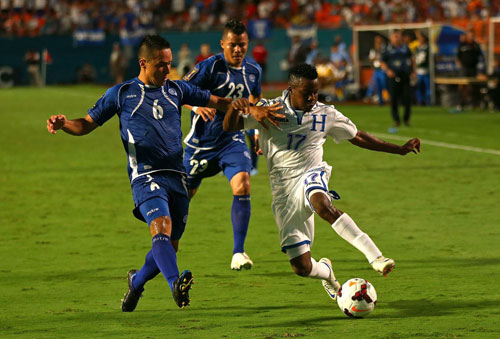 Honduras wins again in Gold Cup