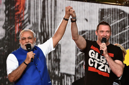 At rock concert, Modi calls for world peace;evokes youth power