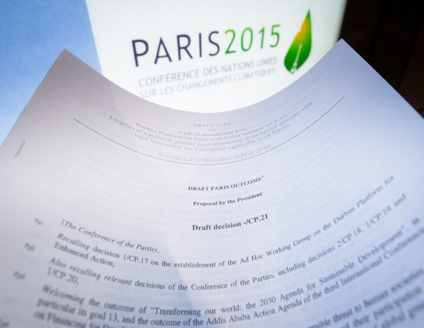 New, shorter draft of climate accord released