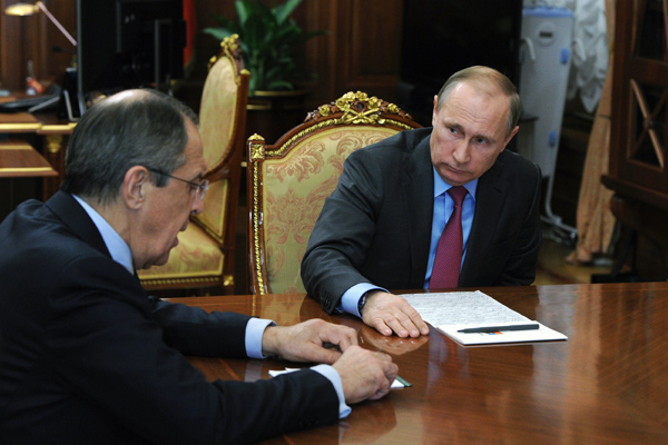 Putin orders withdrawal of forces from Syria