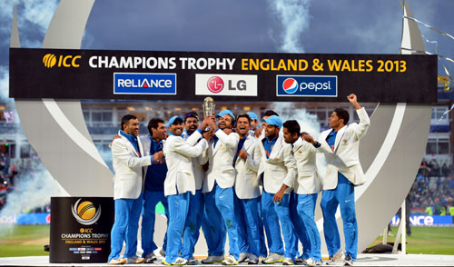 India win Champions Trophy in Twenty20 style