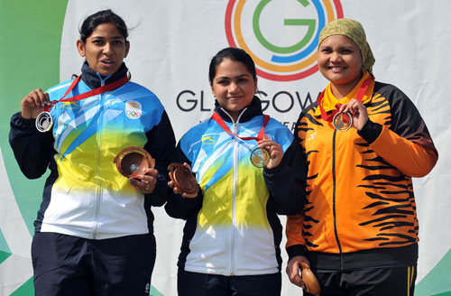 Indian medal winners at 2014 Commonwealth Games