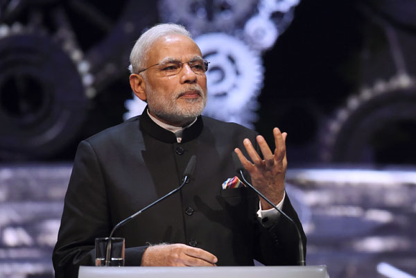 Moved with speed, boldness to create stable economic environment: Modi at Hannover