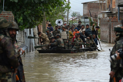Flood situation grim in J&K; rescue operations underway