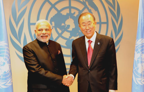 Modi suggests more reforms at UN, seeks greater role for India