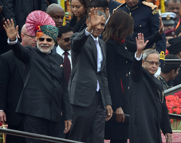 India displays military, cultural power at R-Day parade