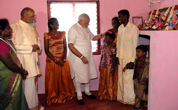 Modi visits Jaffna, seeks respect for all citizens in Sri Lanka