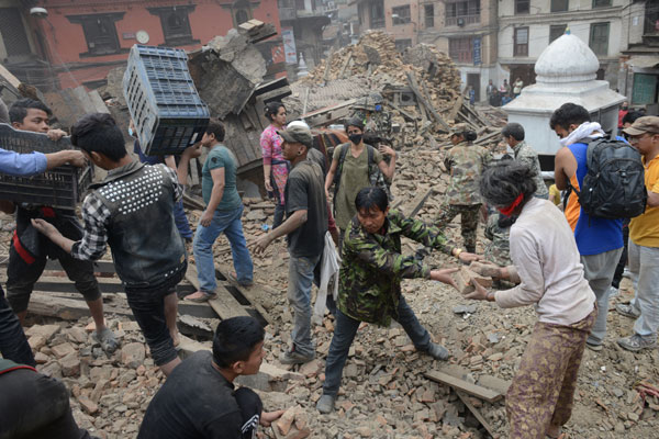 Toll in Nepal earthquake rises to more than 3,200