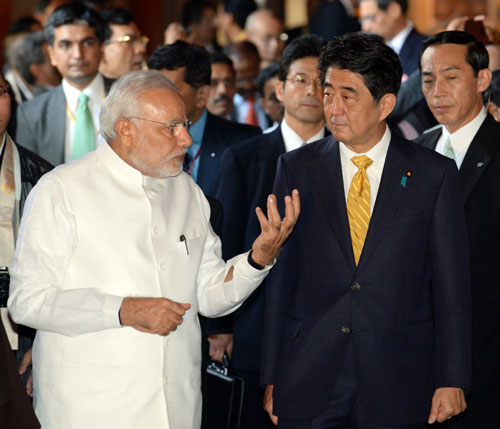 After busy day in Kyoto, Modi heads to Tokyo