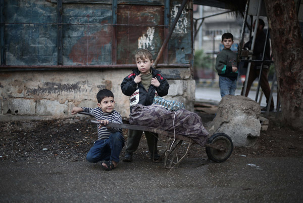 Russian strikes in Syria kill at least 97 children, says monitoring group