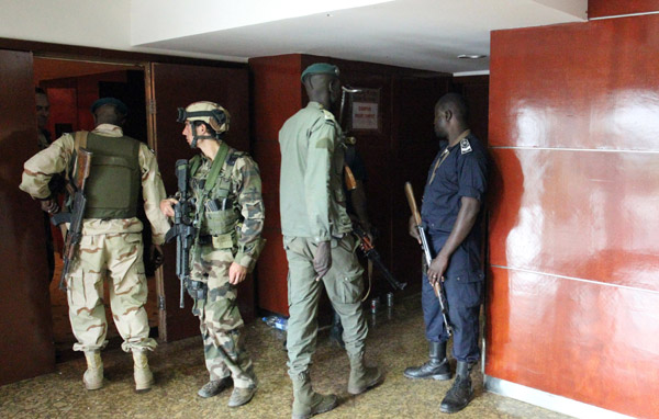 Mali hunting at least three suspects over hotel attack