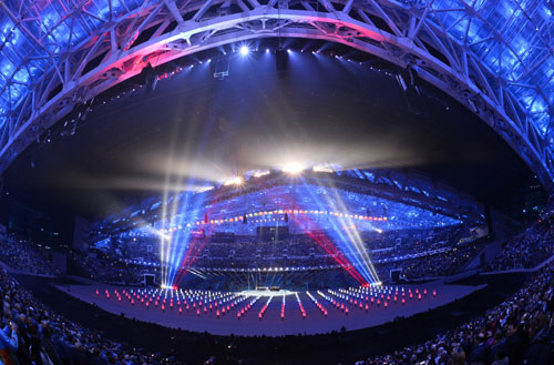 Sochi Winter Olympics begin with glittering ceremony