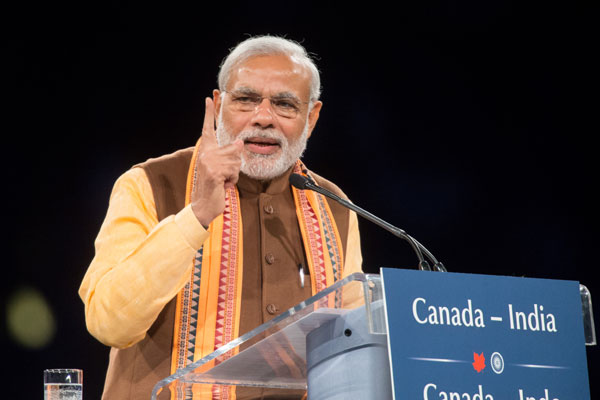 There is an atmosphere of trust in India, Modi tells Indian Diaspora