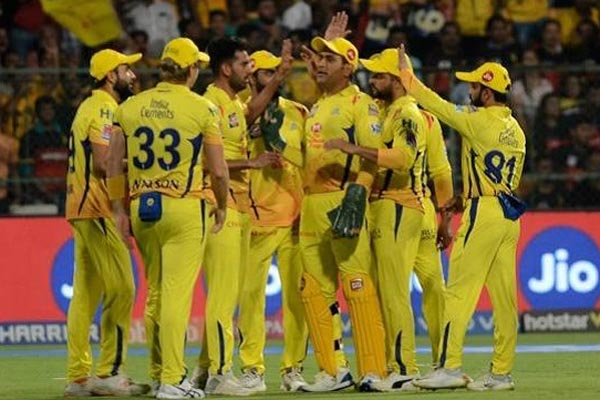 CSK snatch top spot from DC with 80-run win