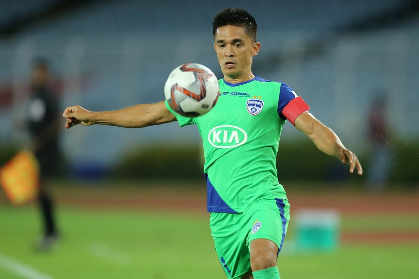Despite being a legend, Chhetri is still a kid at heart: Lyngdoh