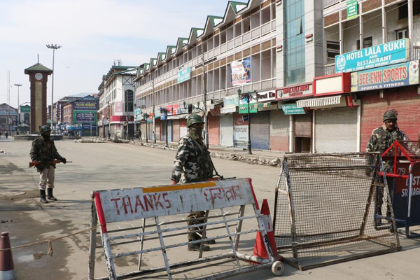 Protest shutdown against terror attack affects life in Jammu