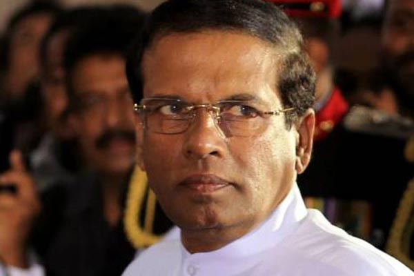 Sri Lankas President announces security shakeup