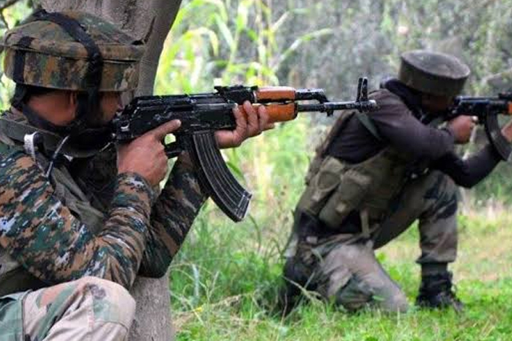 3 terrorists killed at Shopian in Kashmir