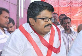LS election: K.K Ragesh files nomination papers