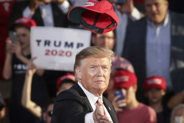 Trump formally launches 2020 re-election campaign