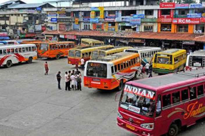Private buses tarry to start plying