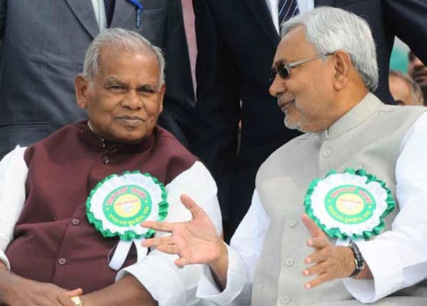 Bihar CM meets Nitish Kumar to end crisis in ruling JD-U
