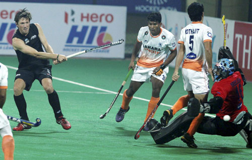 Hockey: India lose to New Zealand 1-3