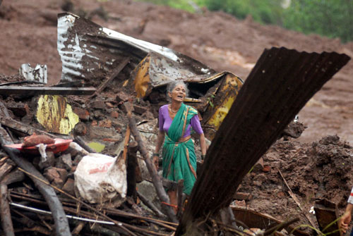 18 dead in Pune village landslide, rescue efforts on