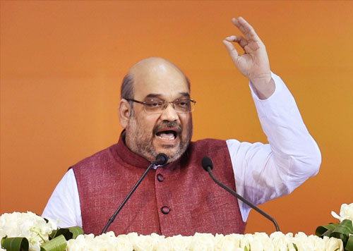 BJP ideology should replace Congress: Amit Shah