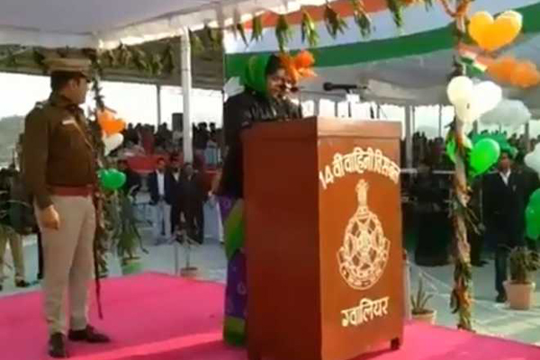 MP Minister fails to read out R-Day message, asks Collector to complete it