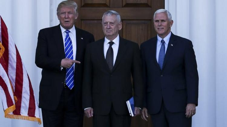 Trump picks retired Gen James Mattis for Secretary of Defense