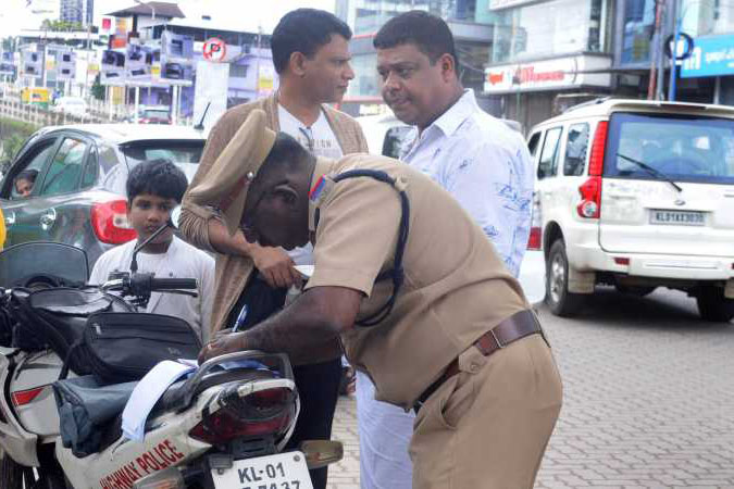 Venture out at the cost of arrest, vehicle registration