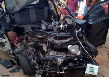 Two killed in car-lorry collision in Alappuzha