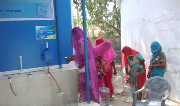 Water ATMs bring smiles to faces of Rajasthan villagers