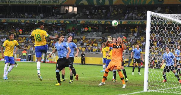 Brazil beat Uruguay 2-1 to enter Confederations Cup final