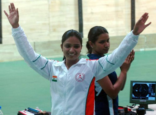Shweta shoots first medal for India, wins bronze