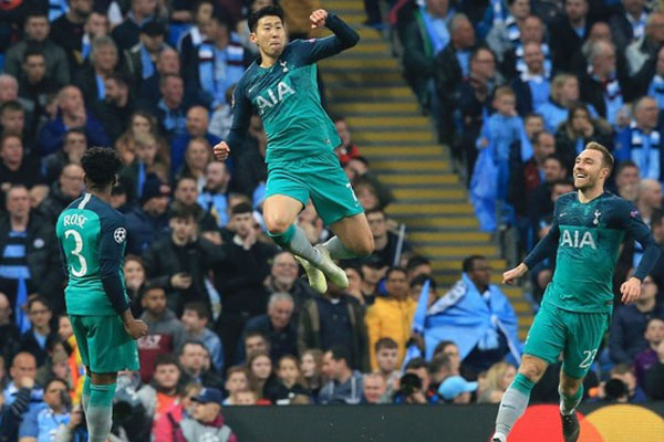 Manchester Citys quadruple quest ends with dramatic UEFA Champions League loss to Tottenham