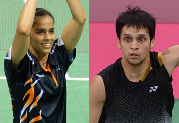 Saina, Kashyap in French Open quarters