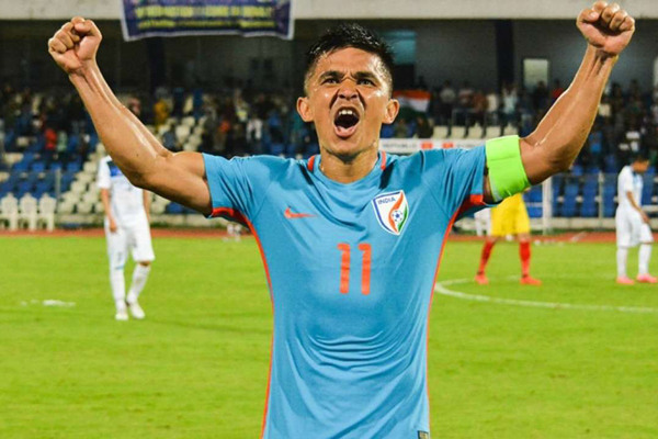 'Could see from the start Chhetri has potential to be special', says Shanmugam Venkatesh