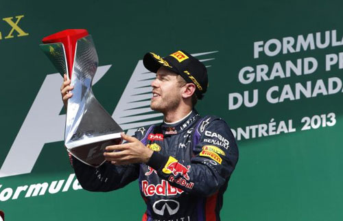 Vettel wins Canadian Grand Prix