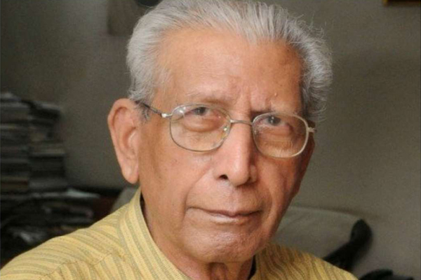 Renowned Hindi author Namwar Singh dead