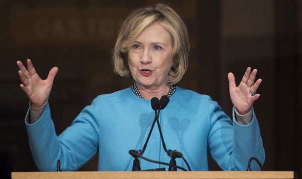Hillary Clinton enters 2016 presidential race