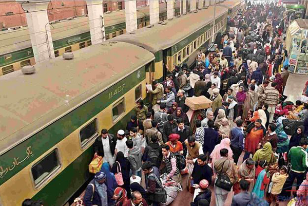Pakistan airspace closure leads to increase in train passengers