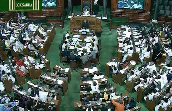 Opposition raises farmers suicide issue in Lok Sabha